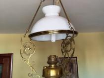 Lampa pe gaz de tavan