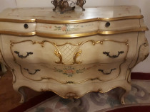 Comoda Vintage Antic,baroc Venetian,ludovic,Italia,Silik