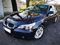 BMW e60 525i 192CP impecabil înmatriculat de o luna