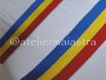 Set brauri tricolor, brauri tesute manual la razboi mic