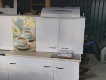 Mobilă bucătărie Chiuvetă cu toate accesoriile ( baterie) H