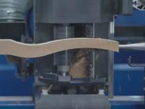 Strung cnc pentru lemn in patru axe