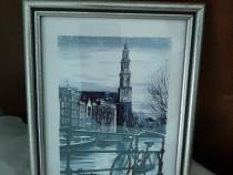 Tablou in creion Amsterdam