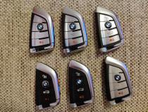 Carcasă cheie BMW, 4 butoane,calitate premium, X5 F15 X6 F16