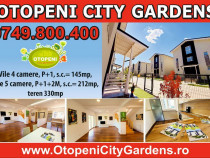 Apartament sau CASA - OTOPENI CITY GARDENS, SOLD OUT 80%