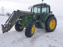 Tractor John Deere 6900, AC, 130 CP, 4x4, anvelope noi