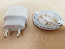 Iphone 11 12 - Incarcator 18W + Cablu Type C Fast Charger