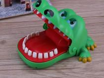 Jucarii copii Crocodil dentist funny crocodil verde muscator