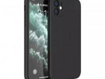 Iphone 12 / MINI / PRO / MAX Husa Silicon Ultra Slim Neagra