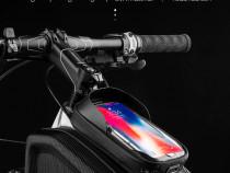 Geanta Coolchange dubla laterala husa smartphone cob antisoc