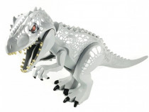Dinozaur urias tip Lego de 30 cm: Indominus Rex 2020 (Silver