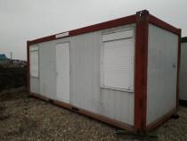 Container modular cu 2 birouri si grup sanitar