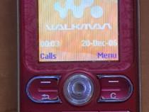 Sony Ericsson W200i Pink - 2007 - liber