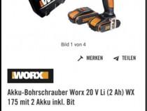 Worx 20V WX175 2 Akku