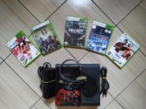 Consola Xbox 360E ultimul model aparut, HDD 250 GB & Jocuri