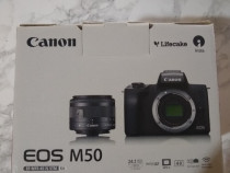 Canon EOS M50 + TREPIED 1,8 m //video 4k