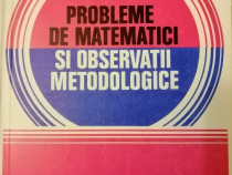 C.Udriste -Probleme de matematici si observatii metodologice