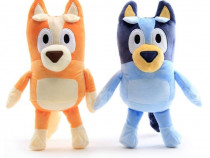Bingo si Bluey - 28cm. jucarii figurine catei de plus NOI
