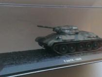 Macheta Tanc T-34/76 1942 URSS WW2 - Altaya 1/72 T34