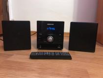 Mini sistem audio medion cd/mp3/usb/aux cu telecomanda