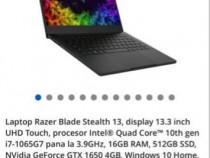 Laptop Razer Blade Stealth 4K 16gb ram NOU