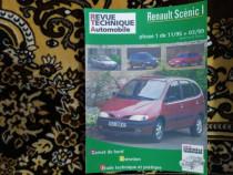 Manual reparatii tiparit Renault Scenic 1 in limba franceza