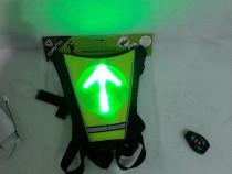 Veste reflectorizanta cu lumini led pt ciclism