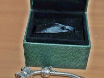 Bratara argint Pandora originala cu charmuri