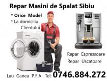 Reparatii mașini de spălat orice model si Espressoare Cafea