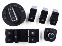 Set butoane VW bloc lumini comutator geam oglinda