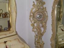 Ceas pendula de podea vintage, baroc venetian rococo,silik,