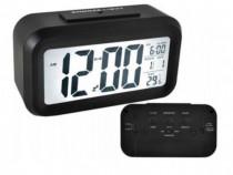 Ceas electronic cu afisaj LED cu termometru si senzor de int