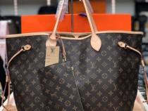 Genți Neverfull Louis Vuitton, portofel atasat