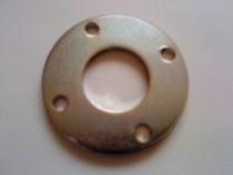 Flanșă metalica feroasa, diametru 8 cm