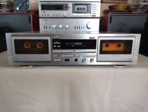 Dublu Deck Denon DRW-660. Dublu Autoreverse,Dolby B C HX-PRO