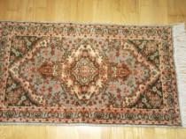 Covor lana - Kashan - lucrat manual - vechi.