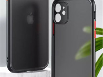 Iphone 12 12 mini 12 pro 12 pro max - husa hybrid margine si