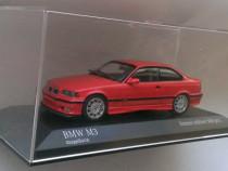 Macheta BMW M3 (E36 Pisicuta) 1992 rosu - Minichamps 1/43