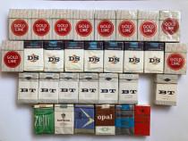 Lot urias 30 pachete tigari vechi DS BT Zefir Gold Line Kape
