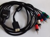 Cablu Component Hama RCA PS2 PS3 Playstation 2 / 3