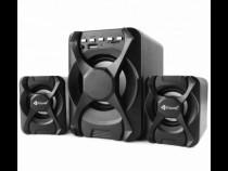 Boxa Bluetooth U-2500BT,Sistem Audio 2.1,5W+2X3 W,Neagra,nou