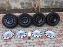 Jante Ford Focus Fiesta C-max R16 5x108+ set capace+ piulițe