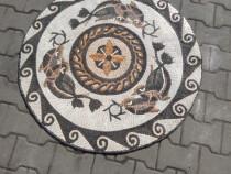 Mozaic piatra naturala Animals Art 100x100 arta