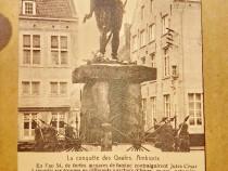 C108-Cucerirea Galiei de Cezar-Rege Ambiorix monument comem.