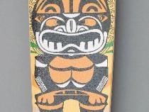 Longboard drop shape - totem tribal - ABEC 7 - nou