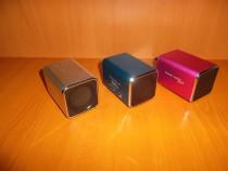 Boxa stereo 6W, jack 3.5, aluminiu
