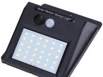 Lampa cu LED incarcare solara si senzor miscare 30x LED C250