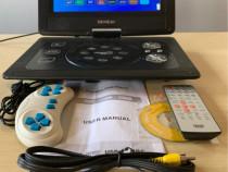 Televizor dvd portabil 10 inch mp4 player usb,telecomanda