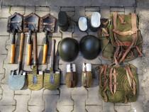 Echipament militar, efecte, accesorii - lopata, gamela,casca