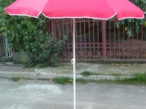 Umbrelă, umbrele grădină, pescuit 180 cm, înclinare husă NOI